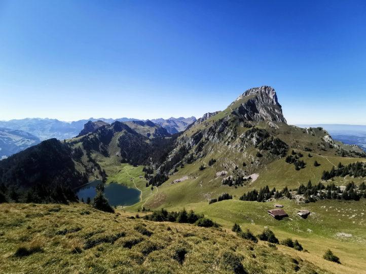 Das Stockhorn mal aus einer anderen Perspektive (vom Lasenberg)
