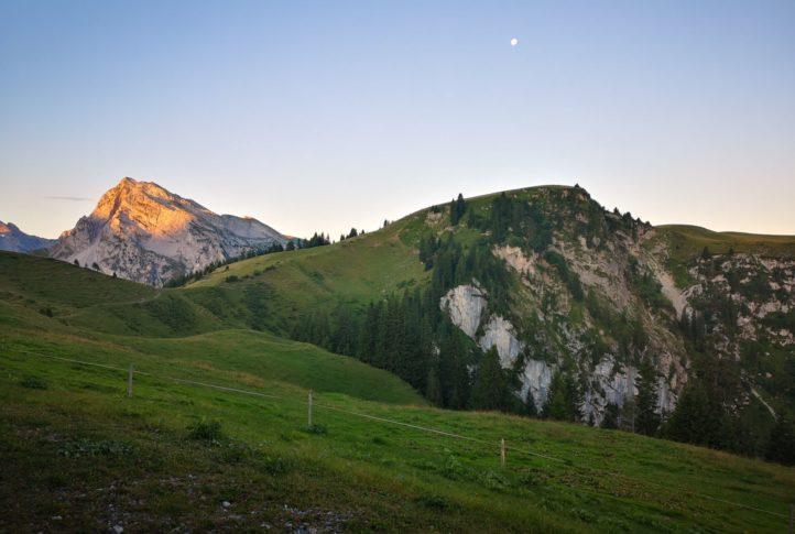 Viele Wege führen auf die Alp
