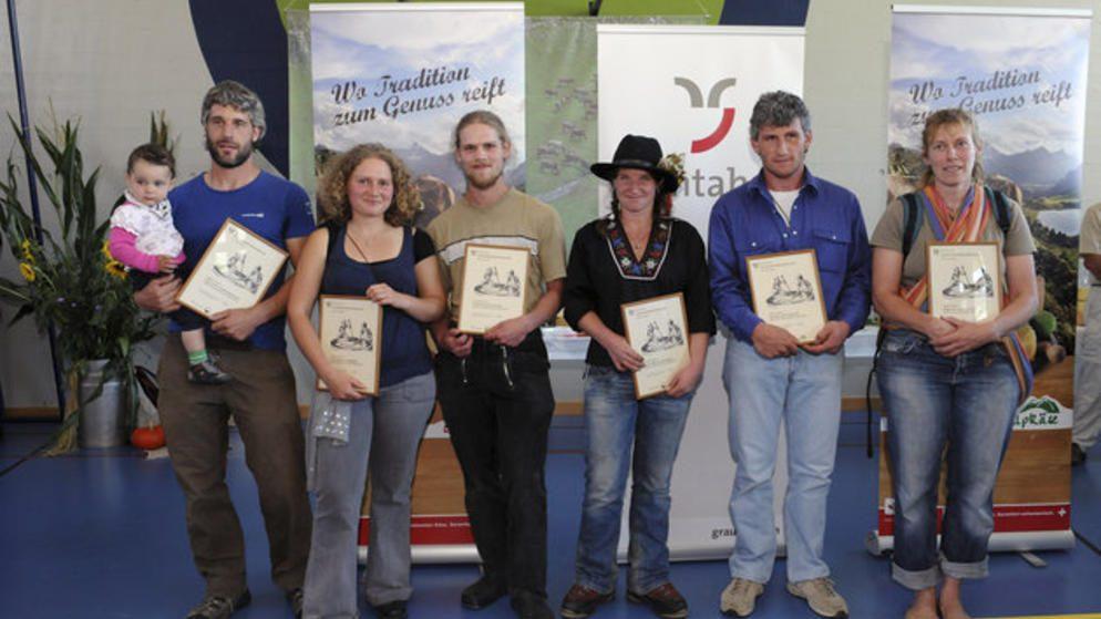 Premio cantonale Plantahof per i formaggi d'alpe