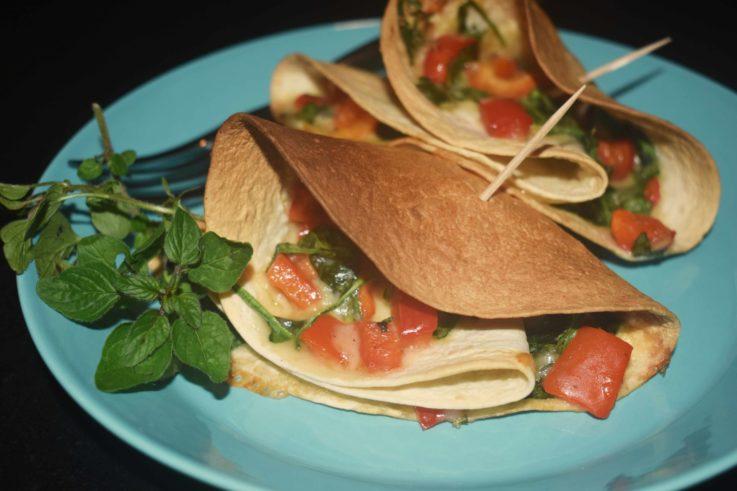 Tortillas au fromage d'alpage