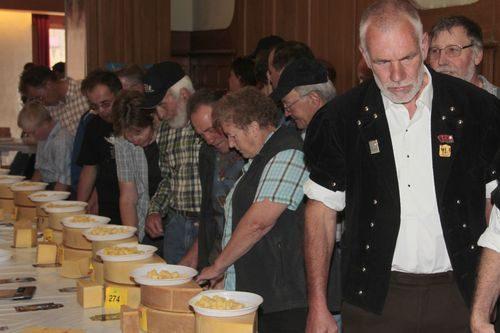 Concours bernois du fromage d'alpage