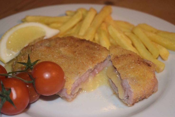 Cordon bleu au fromage d'alpage