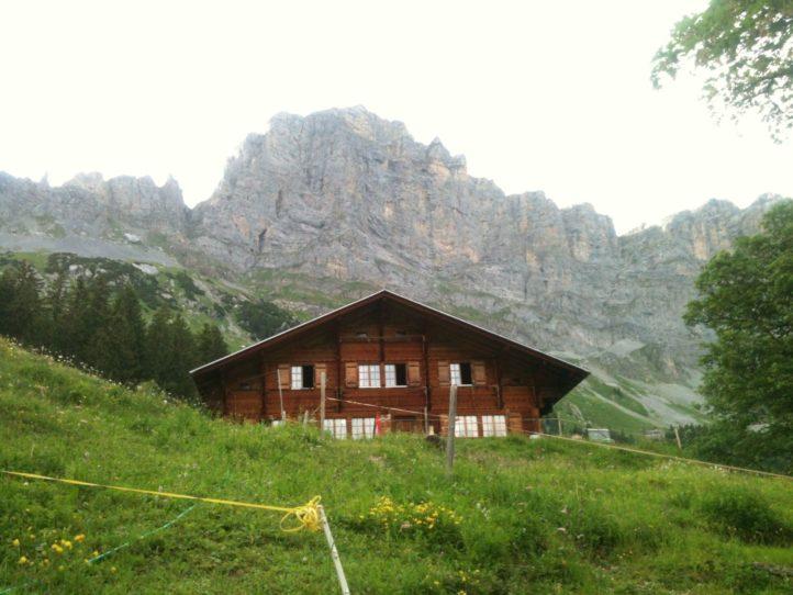 Alp im Gadmental/Berner Oberland
