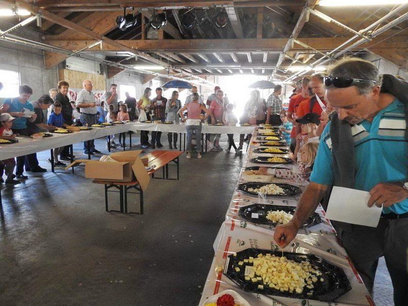 Concours de fromages d'alpage Molseralp